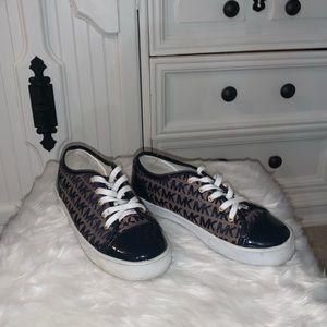 Michael Kors navy sneakers